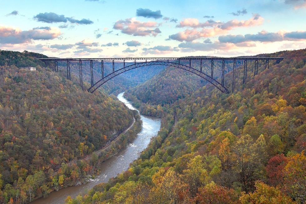 Brücke als Schwelle